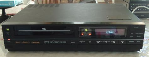 Fisher VHS VCR Model FVH-904
