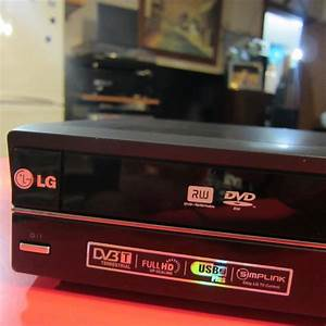 Lg Rc689d Dvd Recorder  Vhs Player Combo With 1080p
