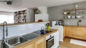 decorer la cuisine relooking peinture deco carrelage With couleur de meuble tendance 8 comment decorer un salon au look scandinave coaching deco