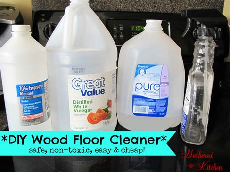 Diy Wood Floor Cleaner Safe  Toxic Easy  Cheap