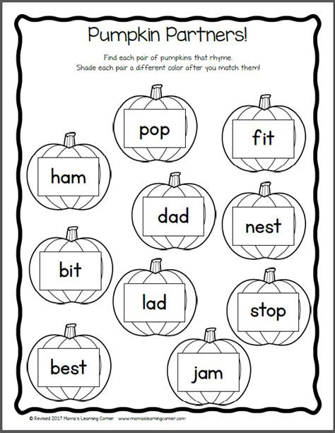 thanksgiving worksheet packet for kindergarten and first grade mamas learning corner