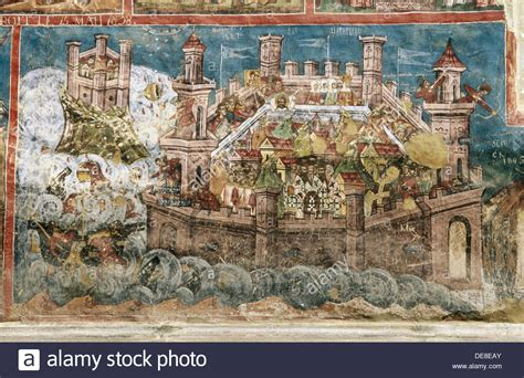 constantinople siege the siege of constantinople of 626 moldovita monastery