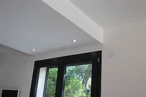 Faux Plafond Placo Sur Rail : faux plafond en placo isolation id es ~ Melissatoandfro.com Idées de Décoration