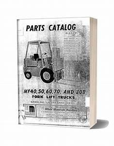 White Fork Lift My40 80b Fork Lift Trucks Parts Catalog