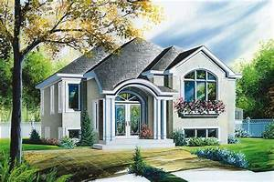 Small, Bungalow, European, House, Plans