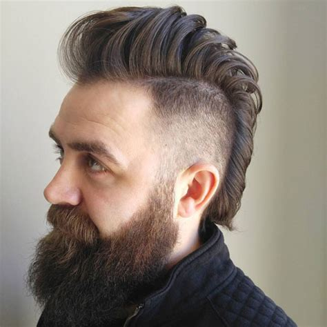 Mohawk Hairstyles by 19 Best Mohawk Fade Haircuts 2019 Guide