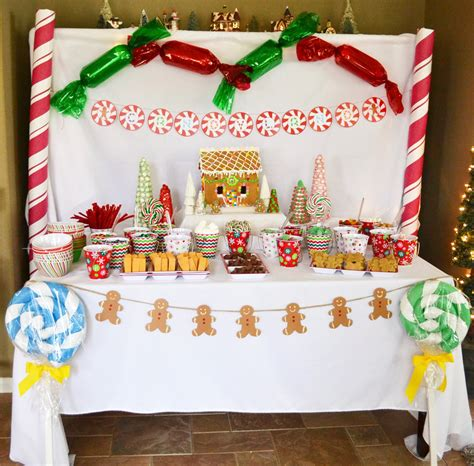 candy land christmas party smash cake