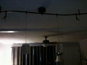 Track lighting over kitchen island remodel pinterest for Kitchen island track lighting