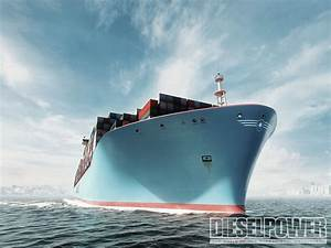 The World's Largest Ship: Maersk Triple-E - Diesel Power ...