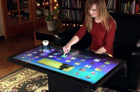 Giant Ideum touchscreen table will play games, apps and