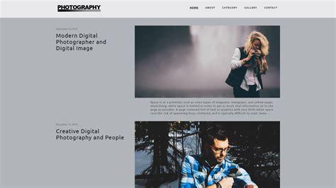 25+ Free Wordpress Themes For Photographer, Photo Blog Or