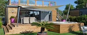 terrasse surelevee ma terrasse With lovely idee de terrasse exterieur 4 photo suivante