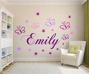 Wandtattoo Kinderzimmer Schmetterlinge :  ~ Sanjose-hotels-ca.com Haus und Dekorationen