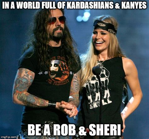 Rob Zombie Memes - image tagged in kardashians rob zombie kanye west funny funny memes imgflip