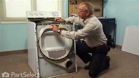 dryer repair replacing the drum bearing ge part