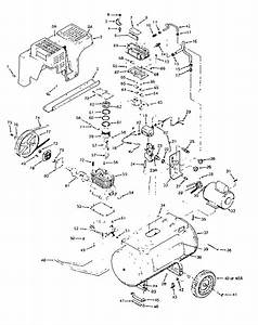 Craftsman Model 919176320 Air Compressor Genuine Parts