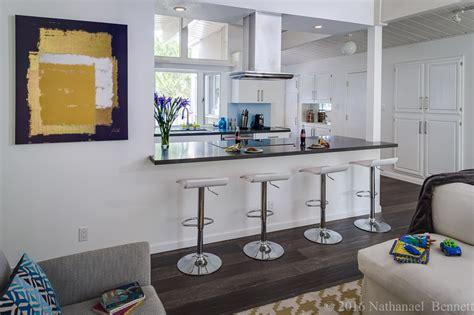 Modern Galley Kitchen Ideas - eichler open plan kitchen gets a mid century modern update