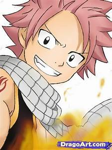 How To Draw Natsu Dragneel from Fairy Tail, Step by Step ...