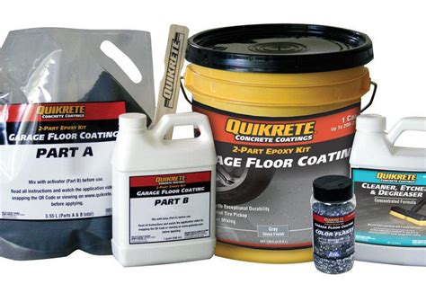 epoxy garage floor coating jlc