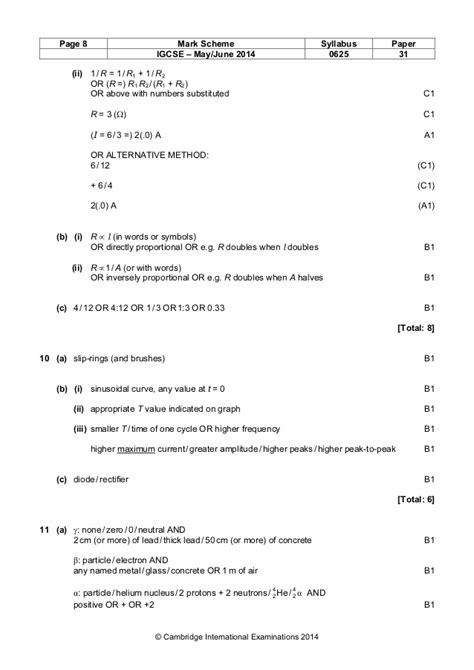 Ib Chemistry Hl Mark Scheme 2013 Pdf  Gladys Milner