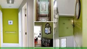 Peindre Couloir Deux Couleurs : peindre couloir deux couleurs 3 d233co comment utiliser le vert dans le couloir bricobistro ~ Preciouscoupons.com Idées de Décoration