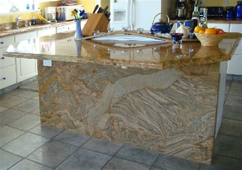 Juparana Colombo Granite Countertop by The Granite Gurus Slab Sunday Juparana Colombo Gold Granite