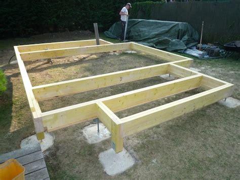 agrandissement de maison en ossature bois dalle en bois