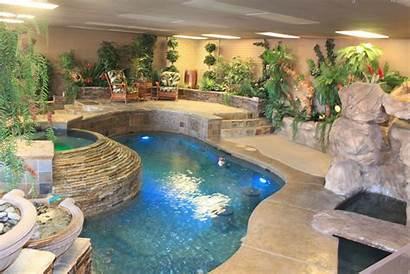 Showroom Pool Vegas Las Landscaping Company Construction