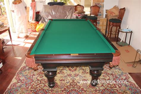 how to refelt a pool table olhausen setup and refelt dk billiards service orange