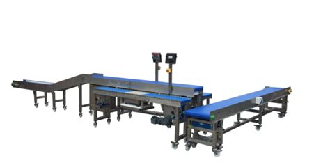 bench mounted platform scales packing tables  spaceguard