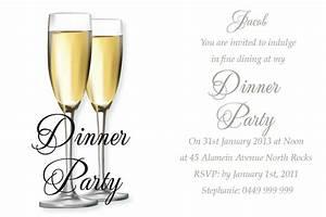 Birthday Dinner Invitation Wording Ideas – Bagvania FREE ...