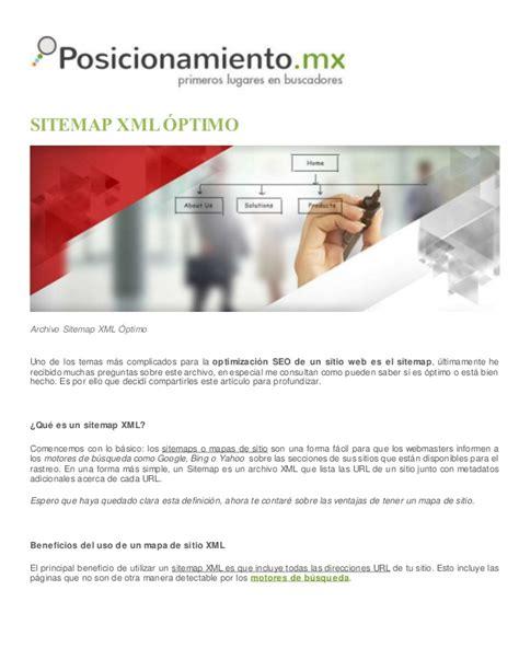 Sitemap Xml óptimo