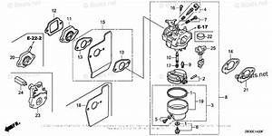 Honda Small Engine Parts Gcv190 Oem Parts Diagram For