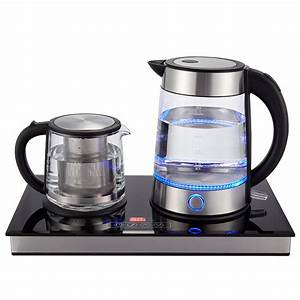 Electric kettle tea maker coffee maker with stainless for Induktionsherd set