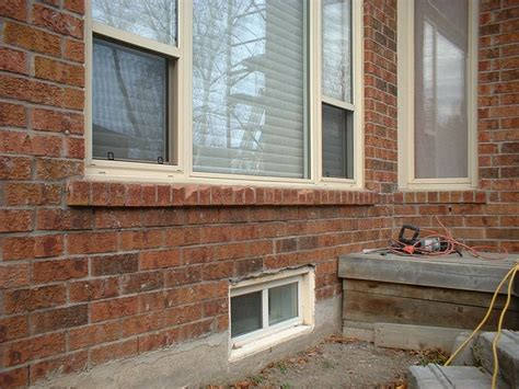 Masonry Window Sill by Deteriorating Brick Sills That Needs Replacing Window