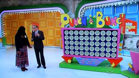 The Price Is Right  Punch A Bunch  6202013 Youtube