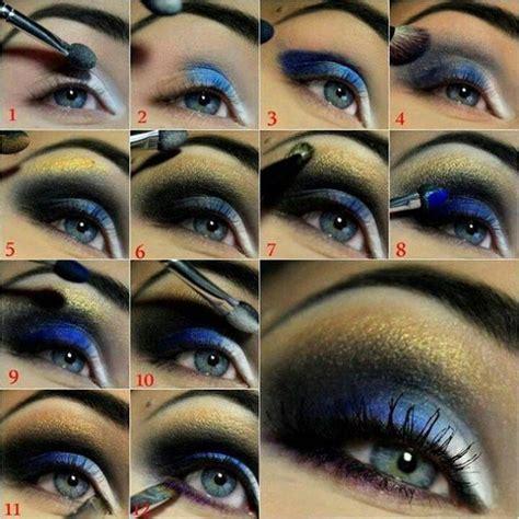 beautiful makeup tutorials  blue eyes pretty designs