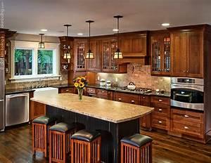 santa barbara craftsman kitchens 736