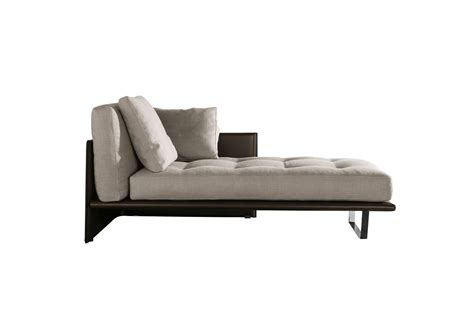 chaise en ch ti luggage chaise longue minotti tomassini arredamenti