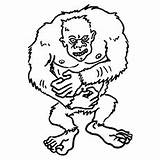 Yeti Coloring Pages Inc Monsters Monster Printable Cute Toddler Fungus Brock Getcolorings Carlton Don Boo Print Worthington Johnny Sullivan sketch template