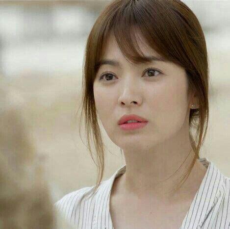 Song Hye Kyo Hairstyle by Korean Trending Bangs Hairstyles 2016 K Drama Amino