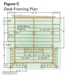 dream deck plans the family handyman