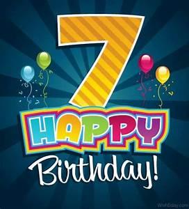59 7th Birthday... 7th Bday Quotes