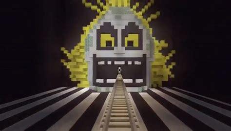 beetlejuice roller coaster  minecraft video games