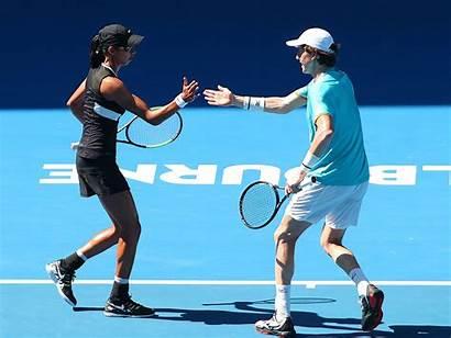 Tennis Sharma Australian Open Mixed Australia Doubles