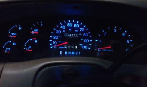 airbag light led bulbs instrument cluster ford