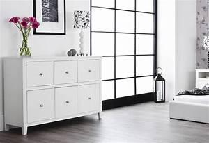 Statement, Furniture, -, Brooklyn, Bedroom, Range, -, White, Painted, Matt, Finish, -, Set, Of, 2