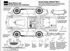 Paper Car Cutouts – Moss Motoring