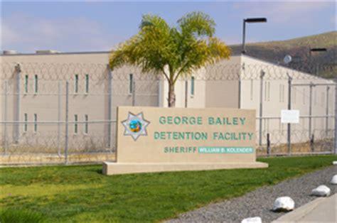george bailey detention facility arrest jail  bail