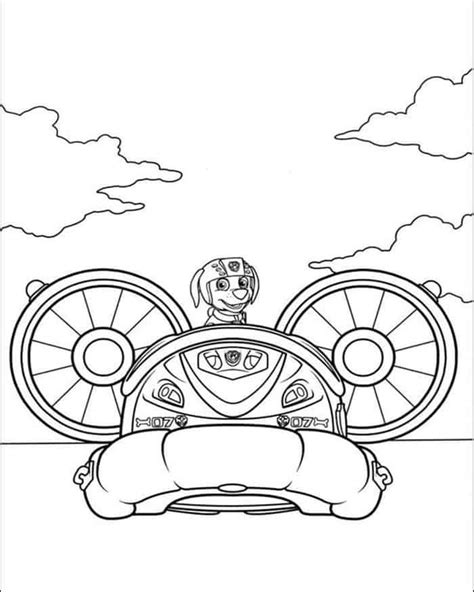 Paw Patrol Sea Patrol Coloring Pages from Paw Patrol